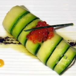 Canelón vegetal de ajoarriero