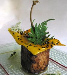 Cubismo de raya con hormigueo de sabores exóticos