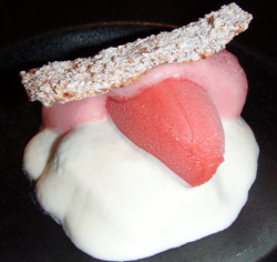 Fresas con nata