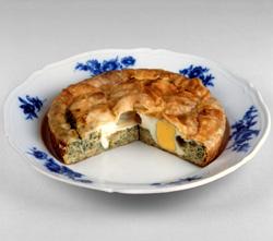 Torta de alcachofas