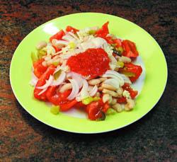 Ensalada de tomate de Montserrat