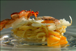 Nuevos espaguetis a la carbonara