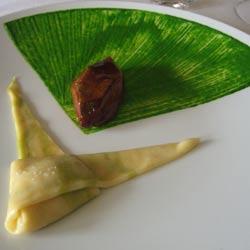 Raw brioche with fermented milk