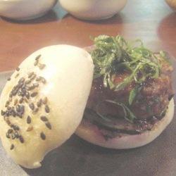 Hamburguesa japonesa