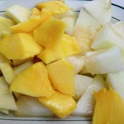 Macedonia de fruta fresca