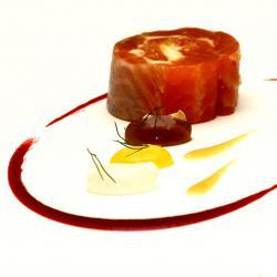 Salazón de Trucha, Cítricos y Oloroso