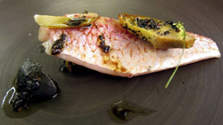 Red Mullet, Artichoke And Sweet Clover