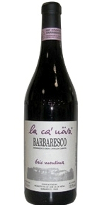 La Ca' Nova, Barbaresco Bric Mentina Cru 01